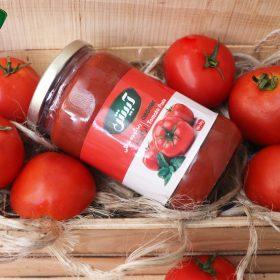 رب گوجه فرنگی طبیعی وارگانیک آبیش آبیش