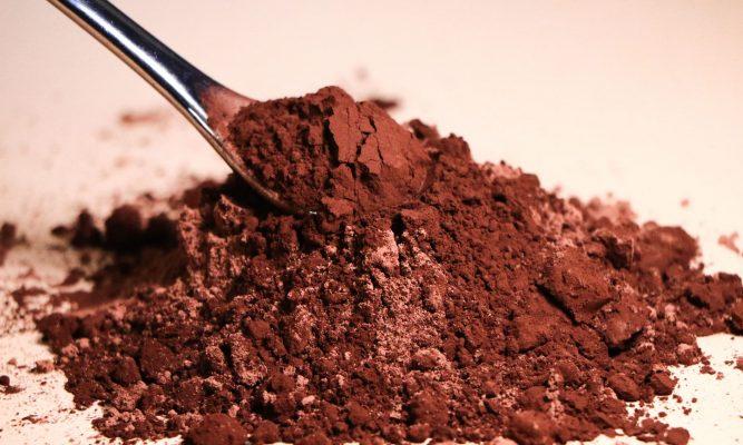 پودر کاکائو سالم وطبیعی وارگانیک